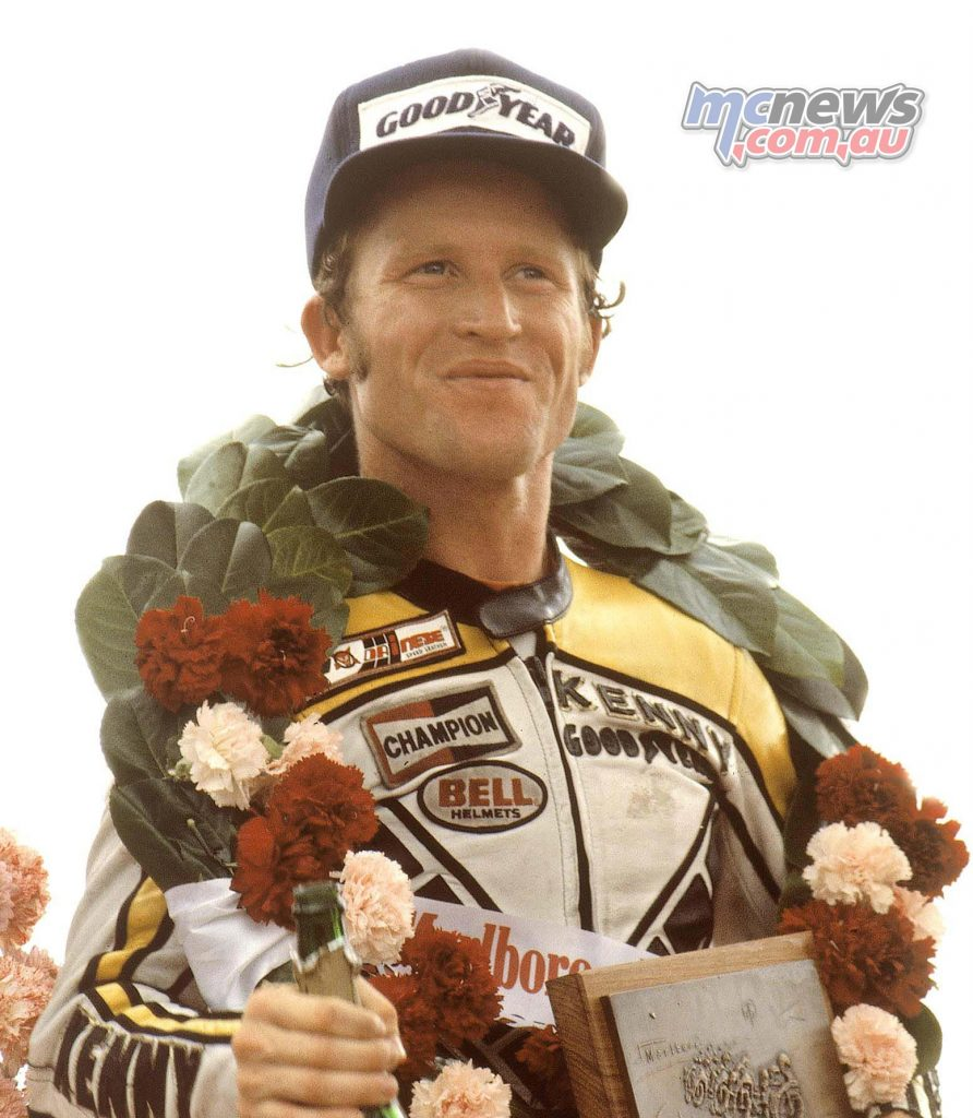 Kenny Roberts Snr. took the Grand Prix 500cc World Championship in 1979