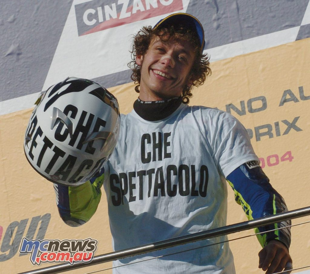 Valentino Rossi - Phillip Island 2004