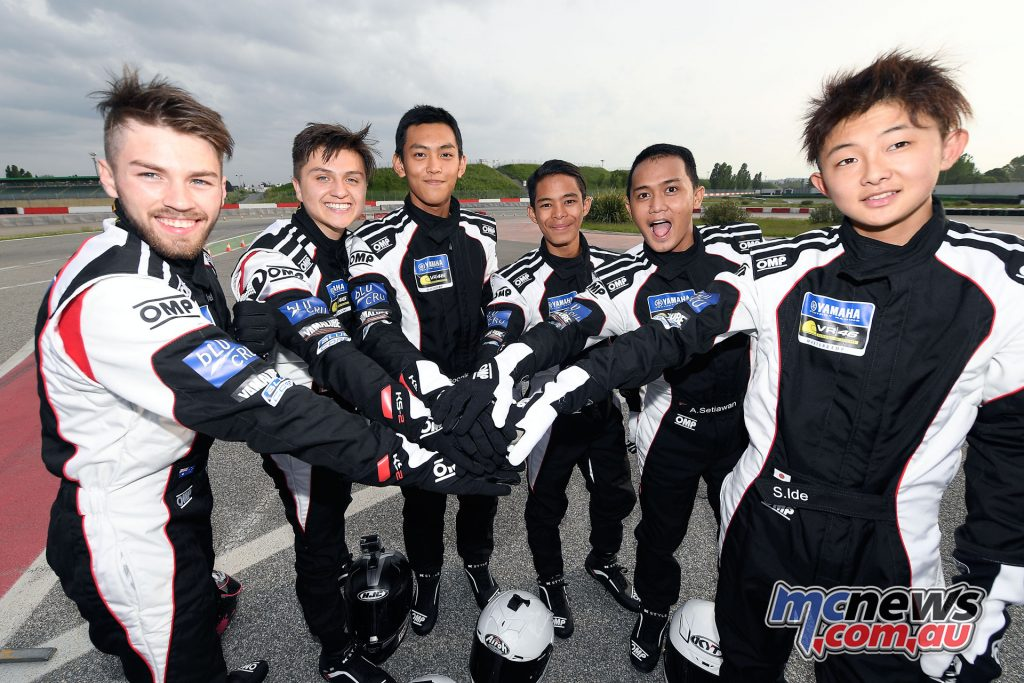 Yamaha VR46 Master Camp - Day Two - Friendly camaraderie among the students
