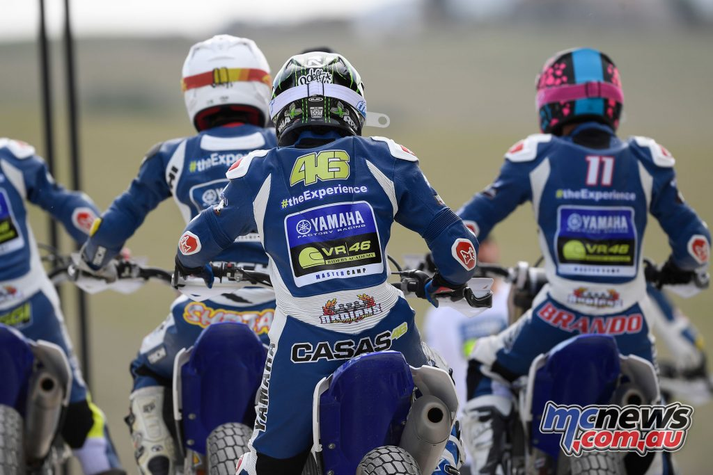 Yamaha VR46 Master Camp - Day Three - Heading out onto the dirt