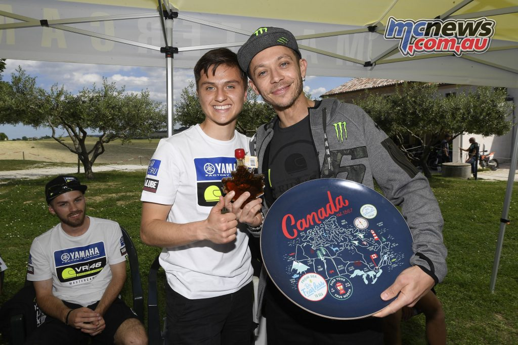Yamaha VR46 Master Camp - Day Four