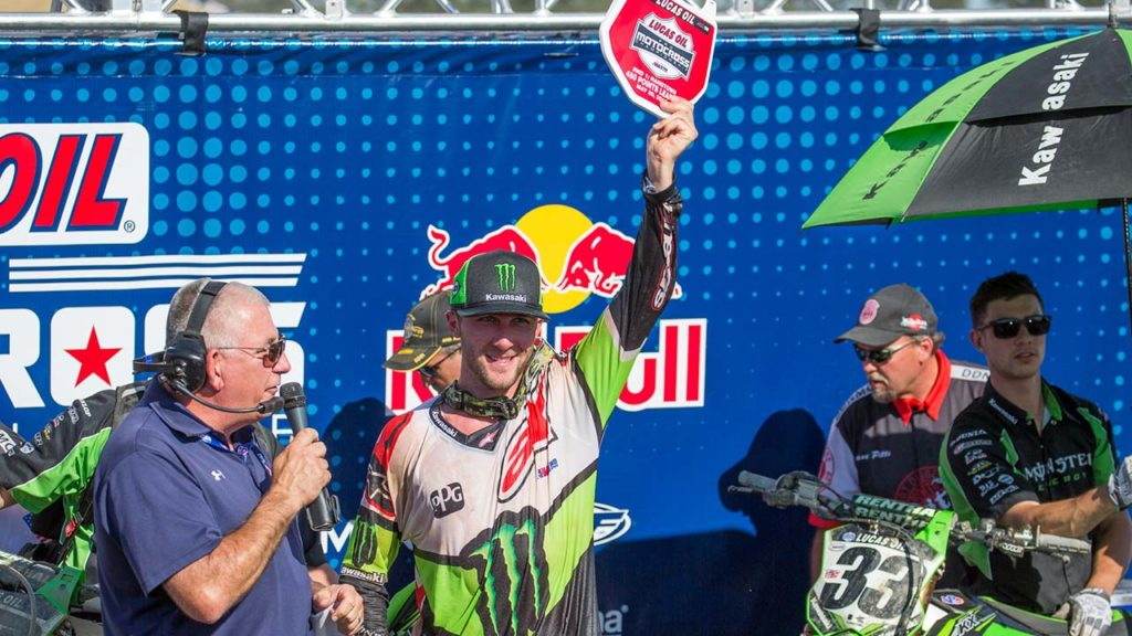 Tomac is asserting himself as the 450MX title favorite. (Photo: George Crosland)