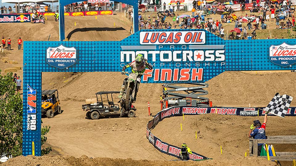 Tomac swept Hangtown for the second time in three years. (Photo: Chris Ortiz)