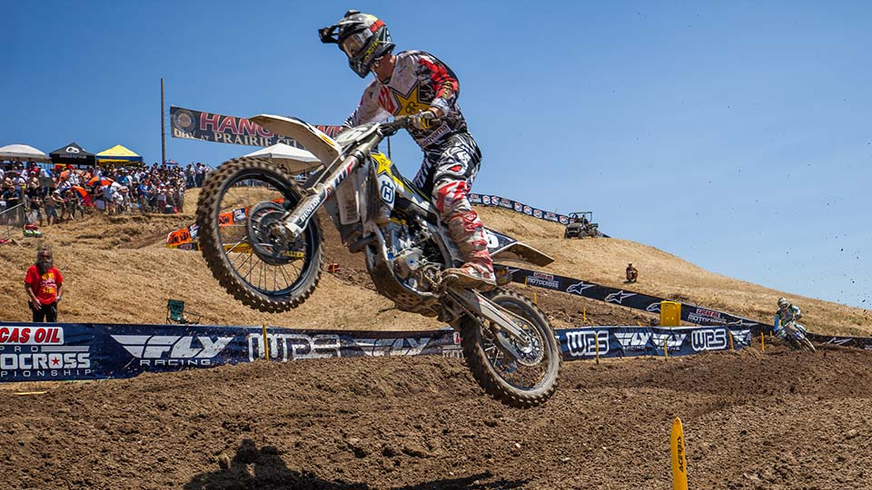 Osborne doubled his number of career moto wins in one day. (Photo: Chris Ortiz)
