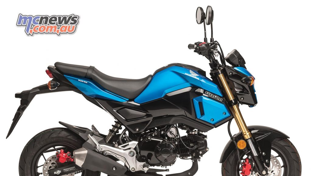 Honda Grom now comes in some funky colours | MCNews com au