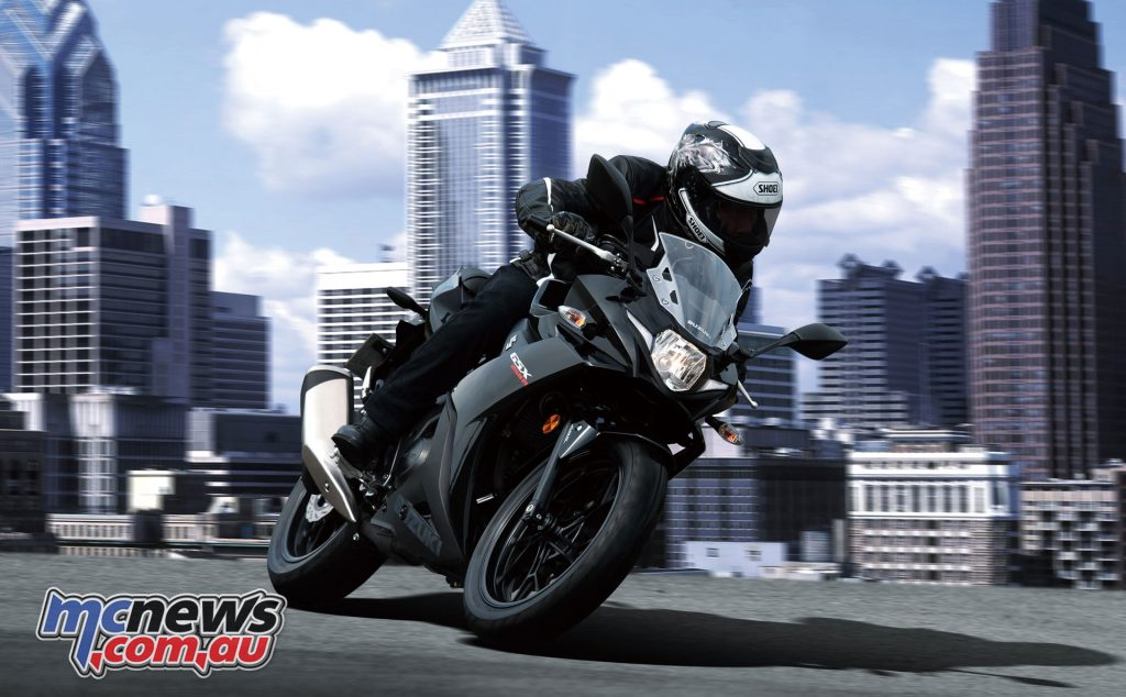 Suzuki are offering a stylish 250cc twin in the GSX250R