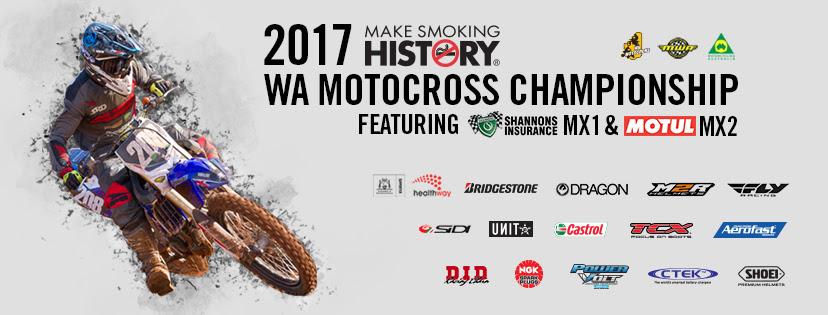 2017 WA Motocross Championship - Round 4 heads to Ulinga