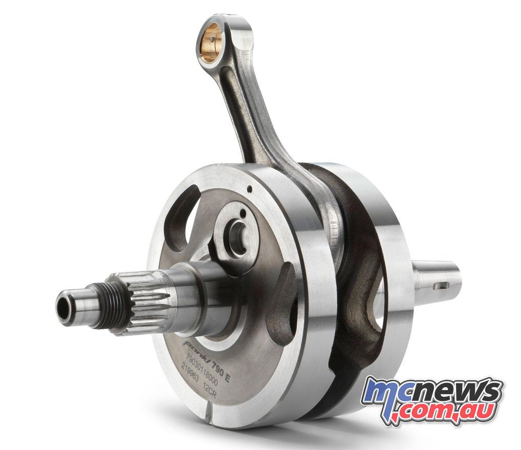 2018 FE 250 crankshaft