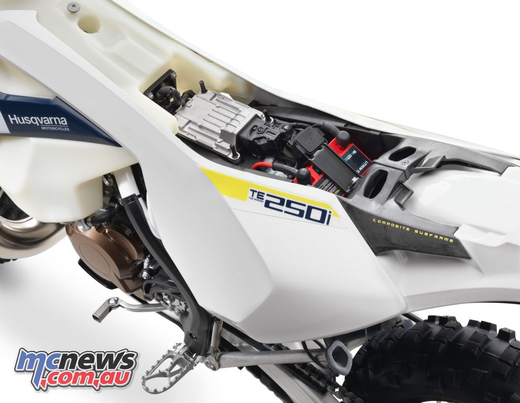 All models include electric start and a Li-Ion battery, except the TX 125