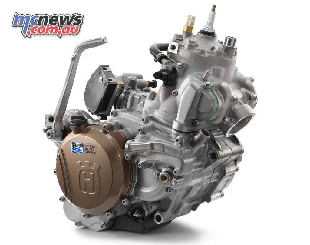 Husqvarna's fuel injected TE 250i powerplant