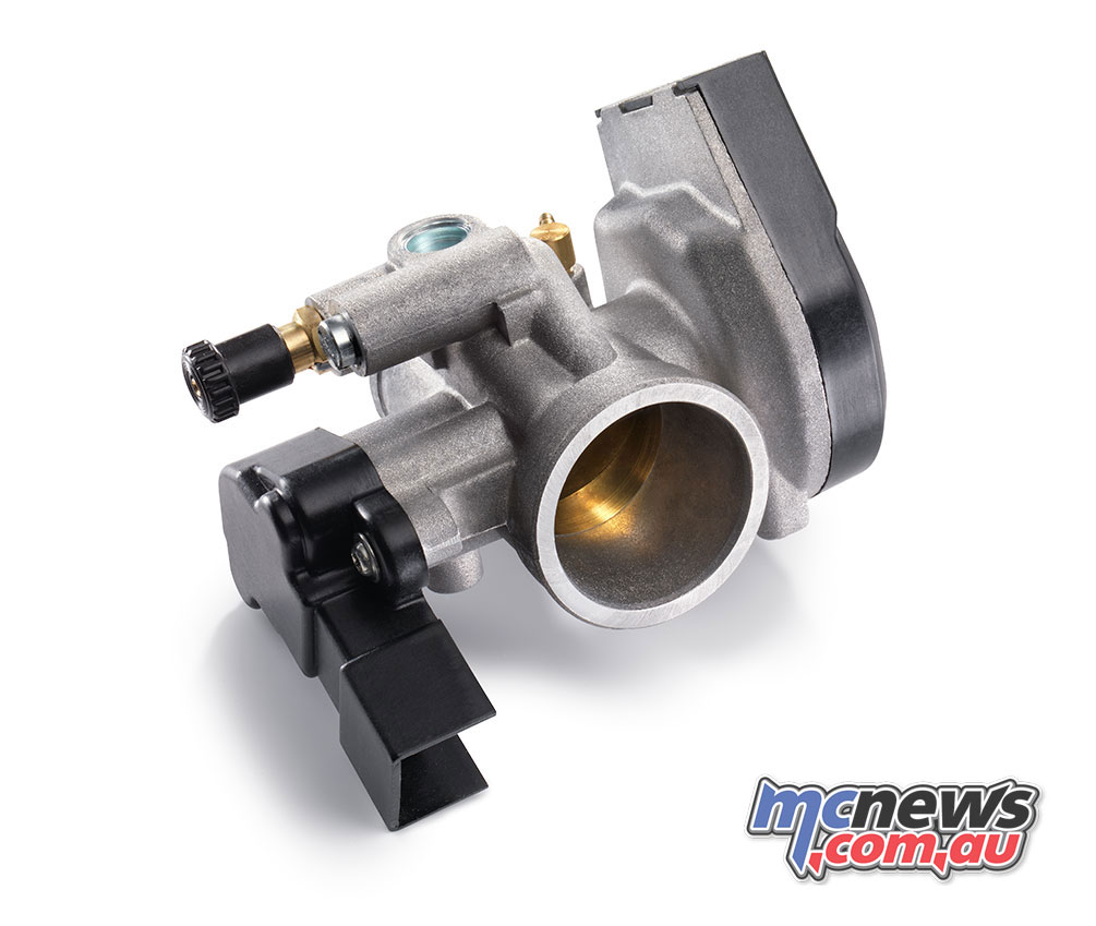 39mm Dell´Orto throttle body