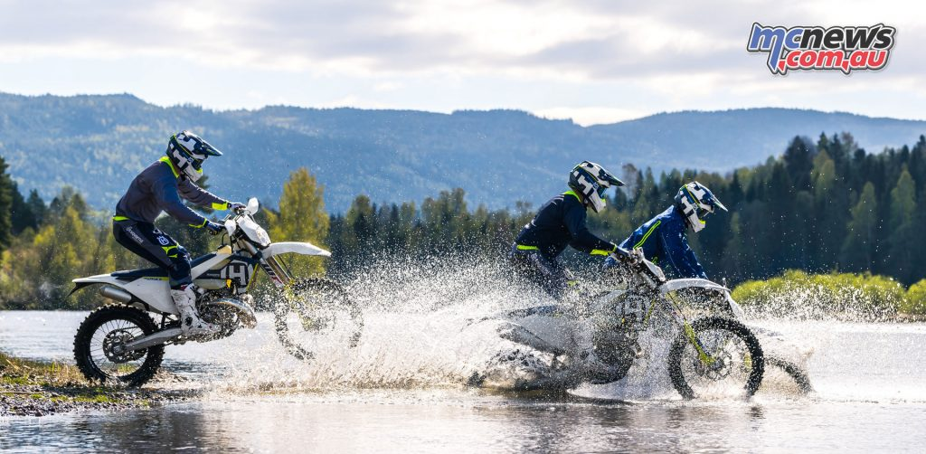 The 2018 Husqvarna FE 250 and FE 350