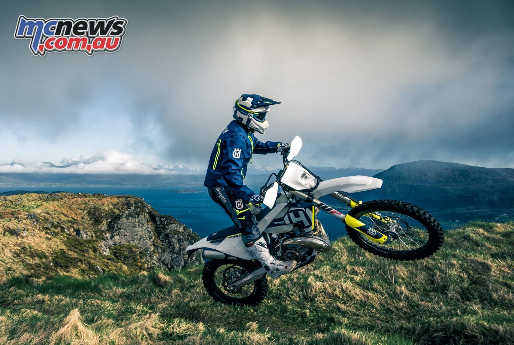 The 2018 Husqvarna TE 250i