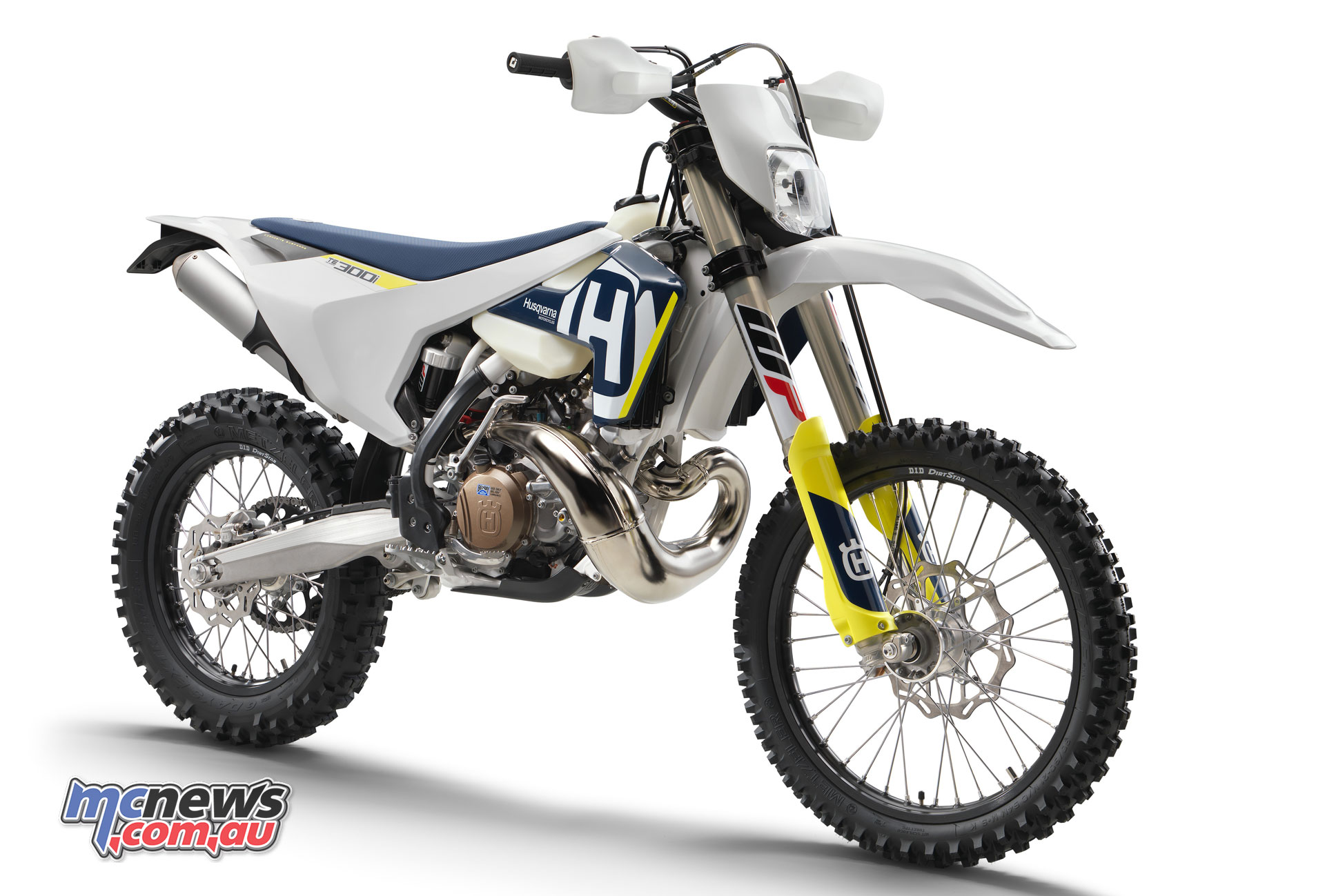 The new for 2018 Husqvarna TE 300i
