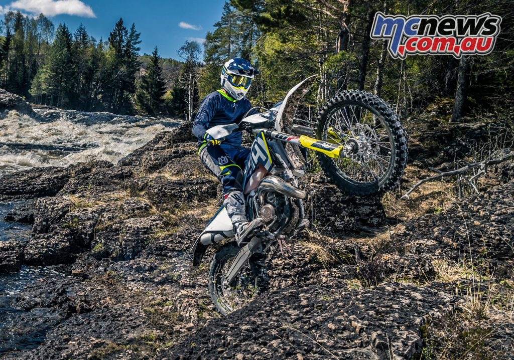 The 2018 Husqvarna TX 125 two-stroke