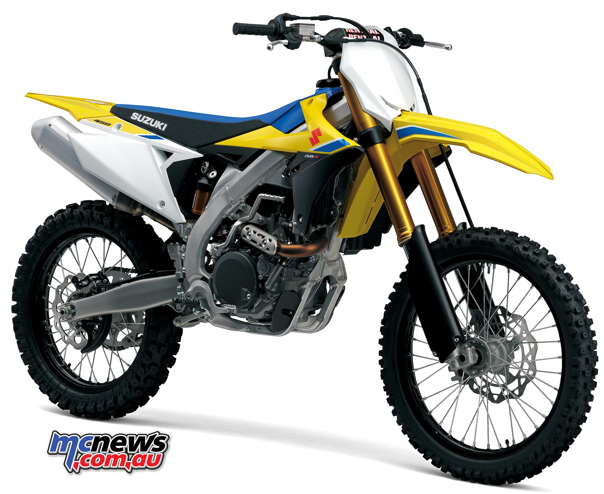 Suzuki's heavily updated for 2018 RM-Z450
