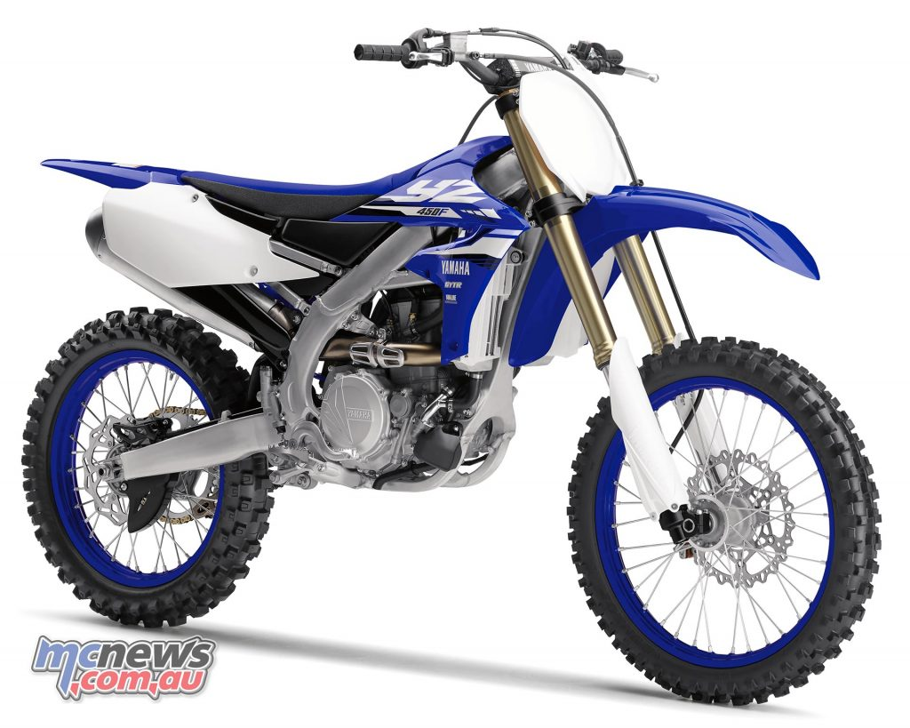 Styling has also been revised on the YZ450F to give the bike a distinct character
