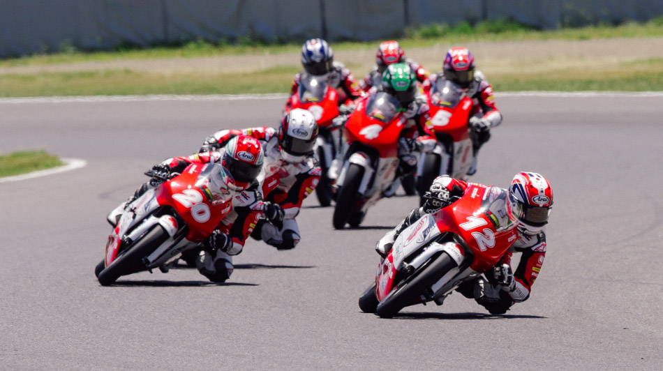 The Asia Talent Cup field in Race 2