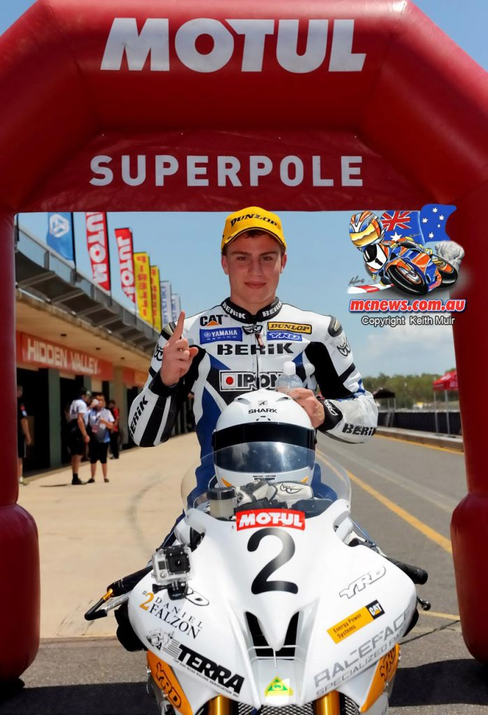The last time ASBK visited Darwin a fresh faced young Daniel Falzon took Supersport pole. This time around when the JD Racing Yamaha rider arrives in Darwin it is as the ASBK Superbike Championship leader.