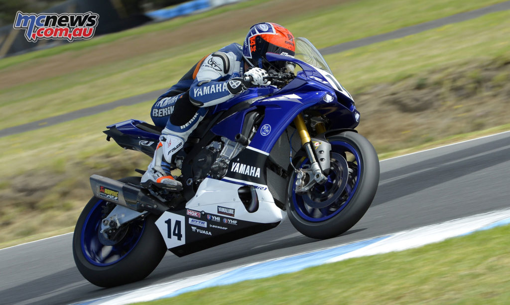 Glenn Allerton at Phillip Island - Image by Russell Colvin
