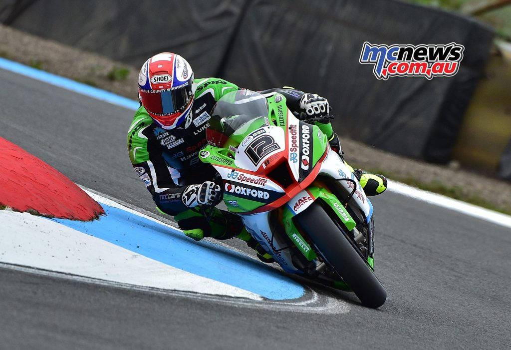 Luke Mossey at Knockhill - Image by Jon Jessop