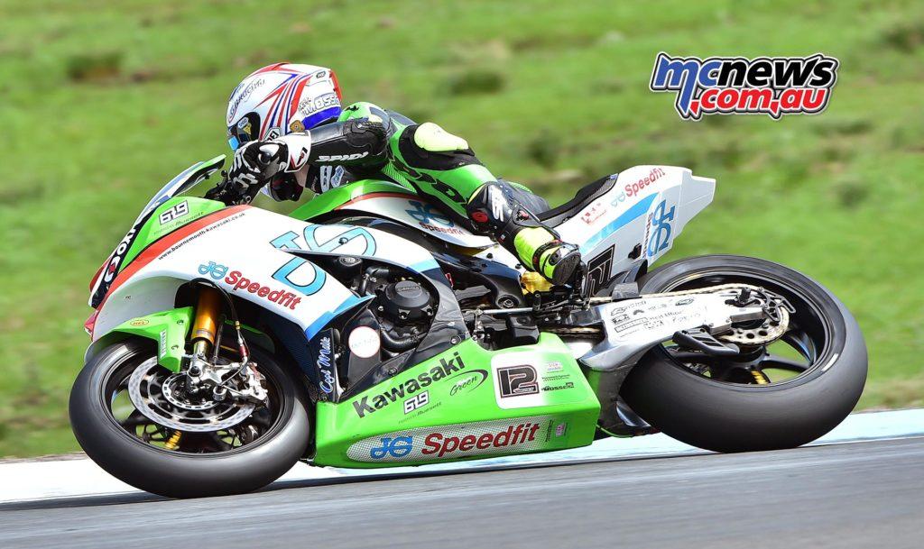 Luke Mossey - JG Speedfit Kawasaki - Image by Jon Jessop