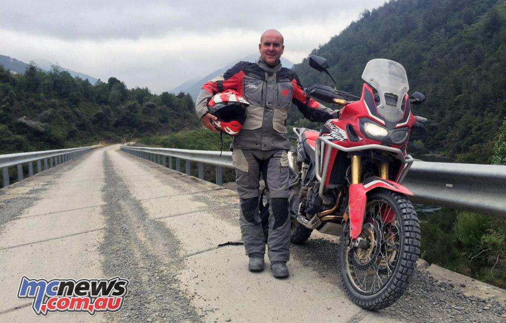 Daryl Beattie and the Honda Africa Twin