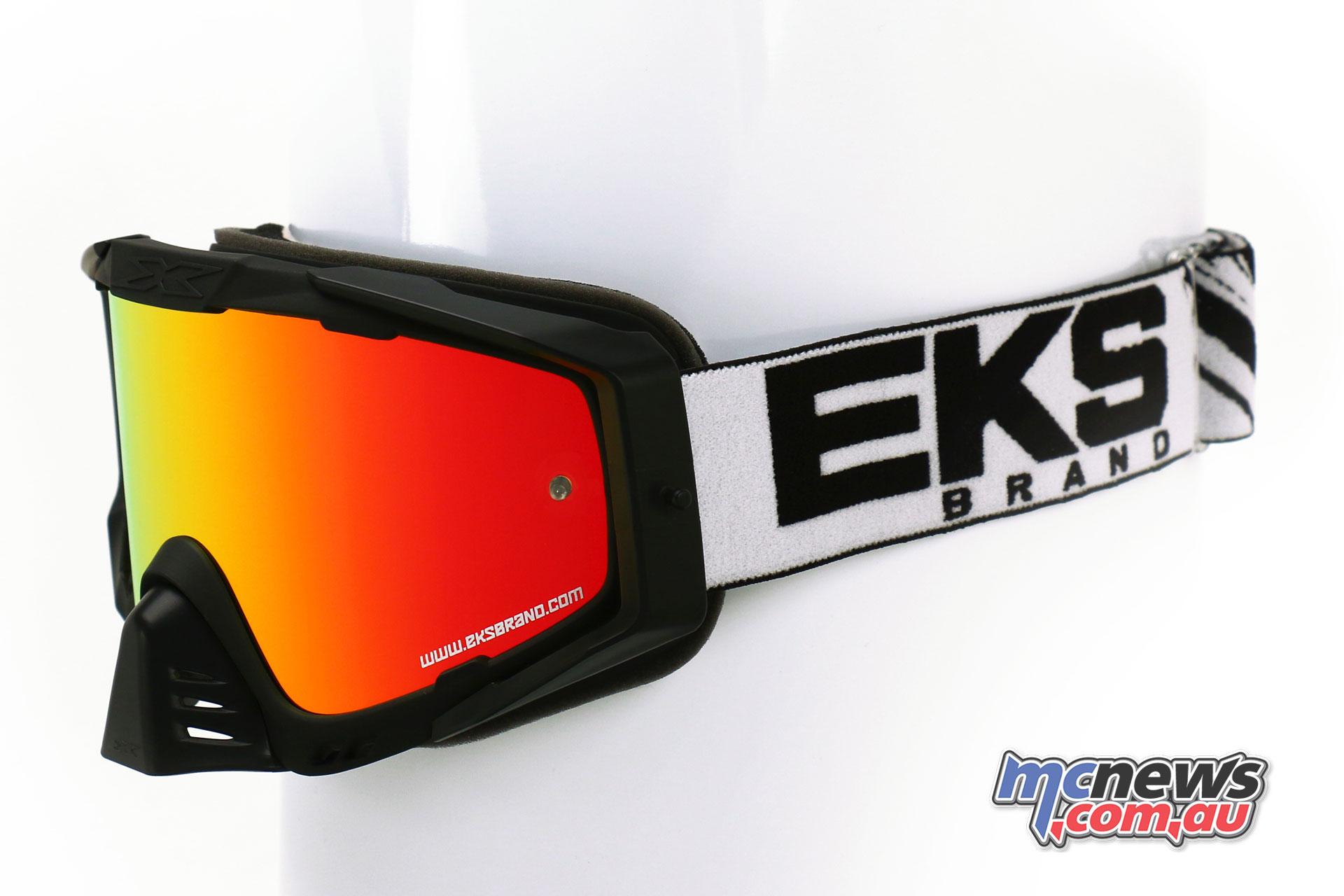 EKS-S Goggles in Black/White