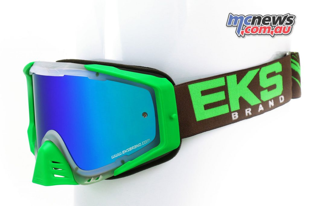 EKS-S Goggles in Flo Green Smoke