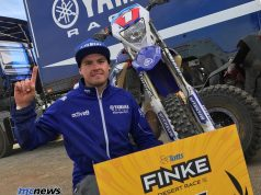Daymon Stokie wins the 2017 Finke Desert Race