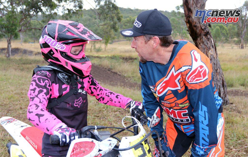 Gary McCoy and Taylah Morris