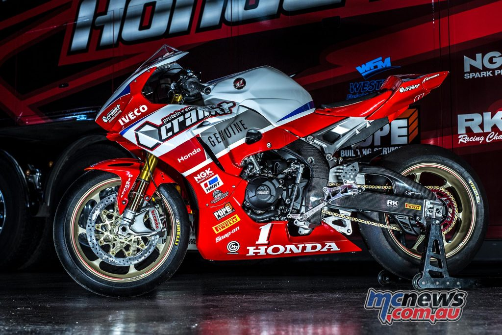 Crankt Protein Honda to make competitive debut at Hidden Valley ASBK - Image by Carl Parisella