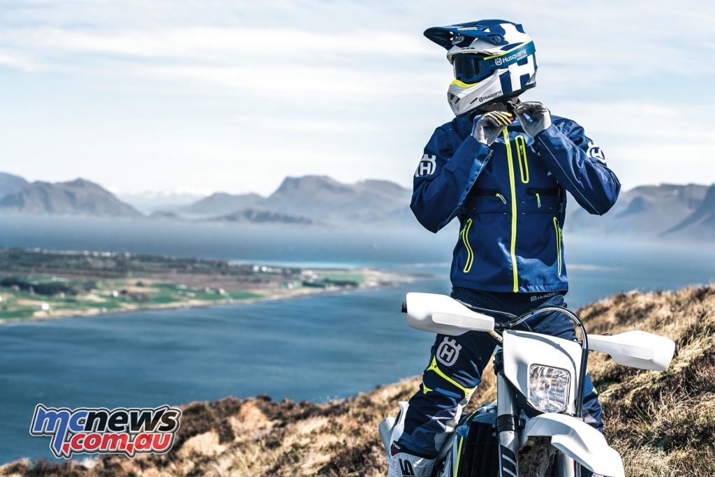 Husqvarna Motorcycles have a range of 2018 clothing and gear