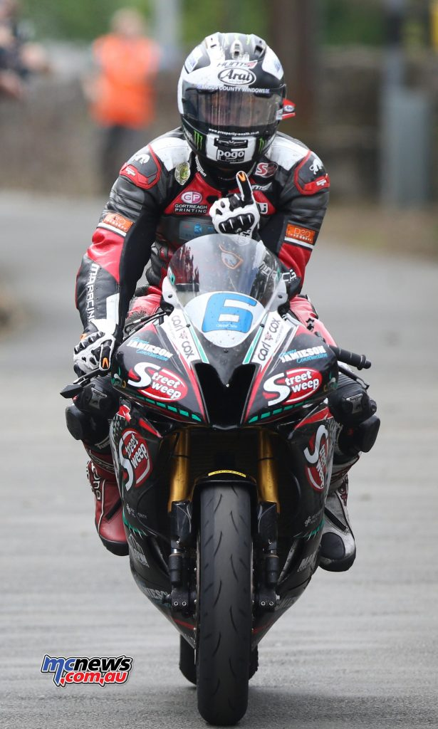 Michael Dunlop was elated with his 14th TT win