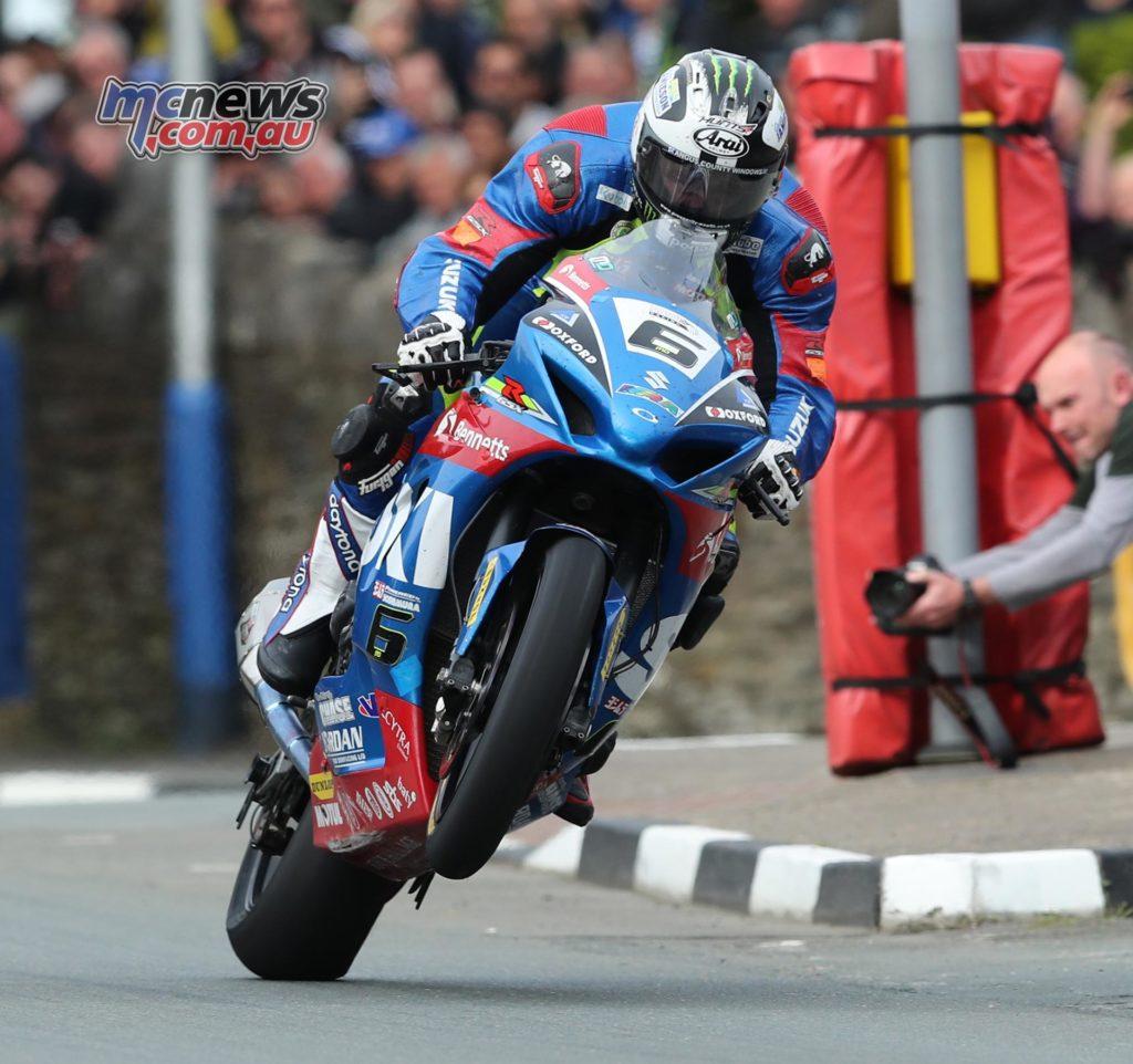 Michael Dunlop at Bray Hill
