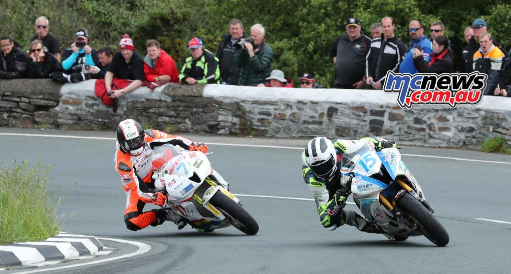 William Dunlop and Conor Cummins
