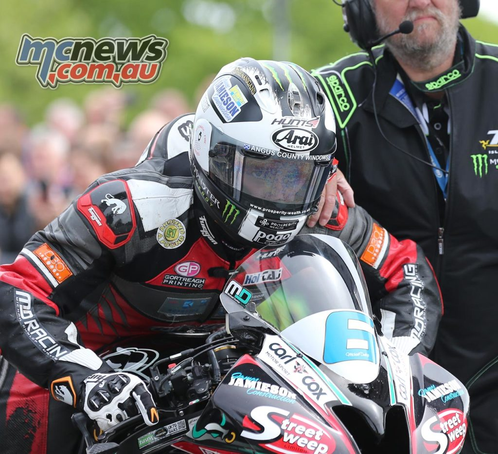 Supersport TT 2017 - Michael Dunlop
