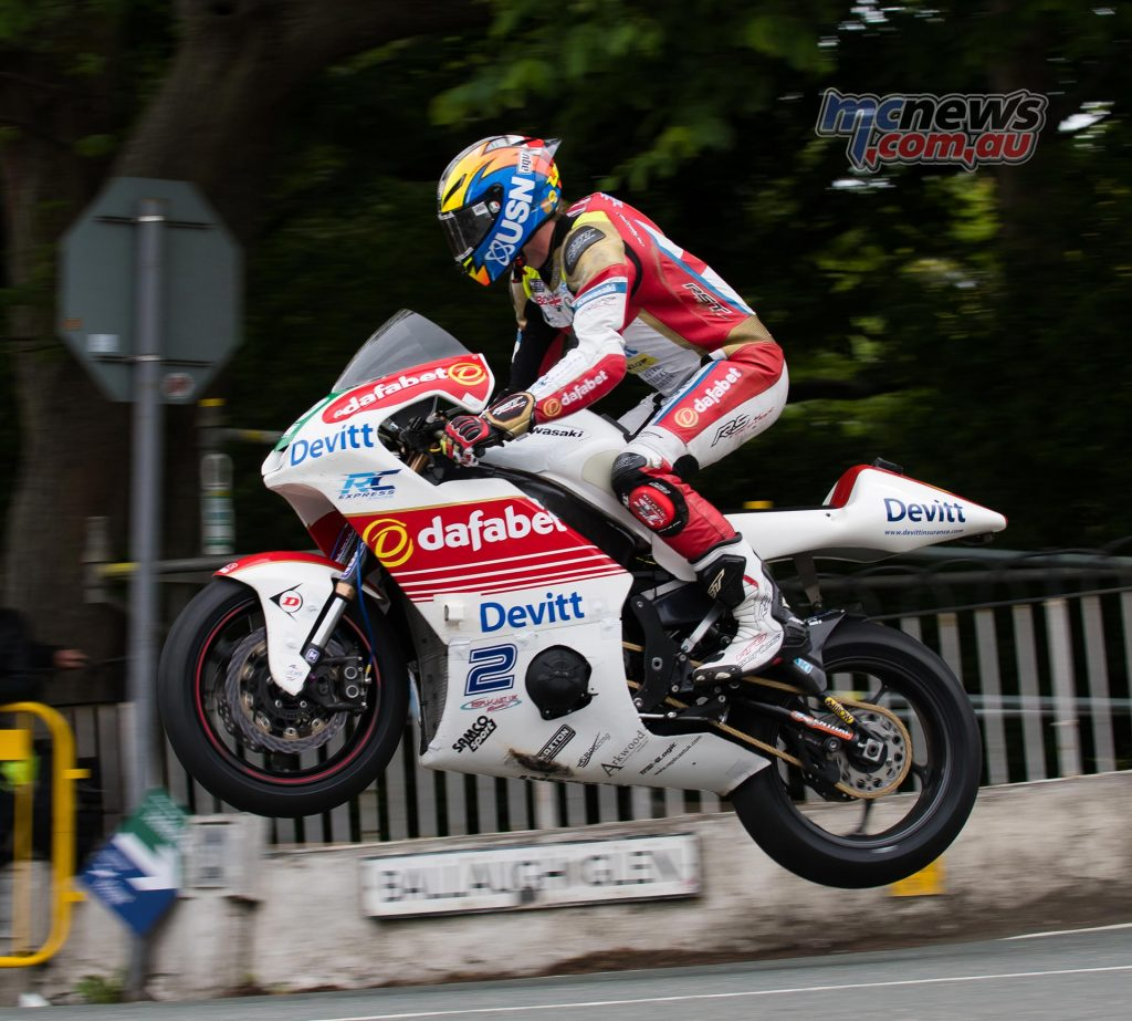 Ivan Lintin at Ballaugh Bridge