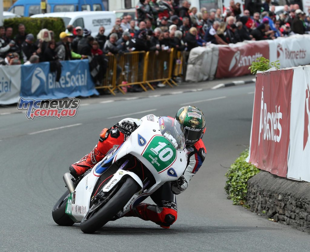 Peter Hickman negotiates Ginger Hall