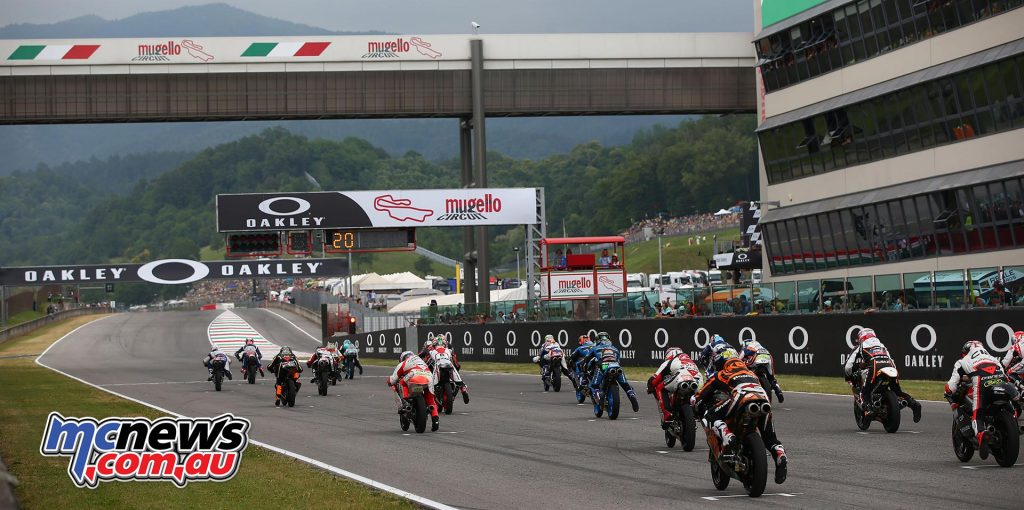 Fabio Di Giannantonio was hot out of the gates at Mugello - Image by AJRN