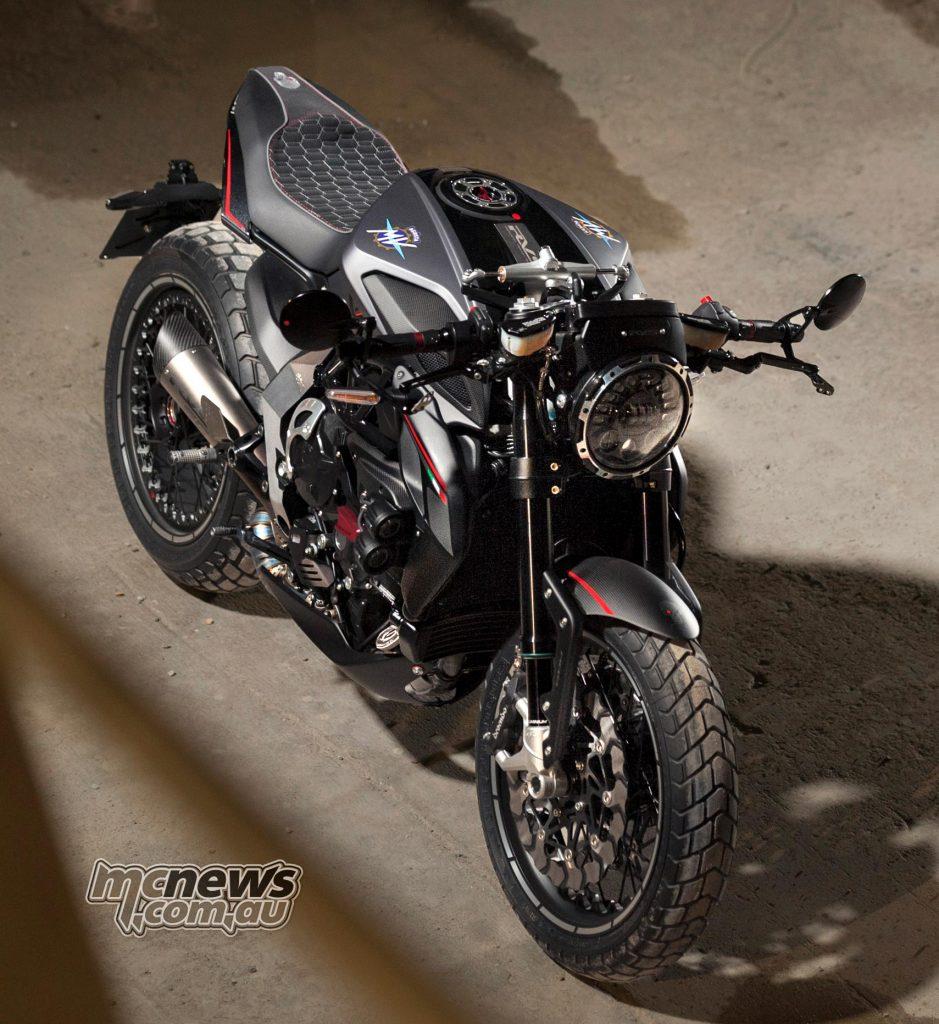 MV Agusta's Reparto Veicoli Speciali 'RVS#1' - Image by Leo Iannelli