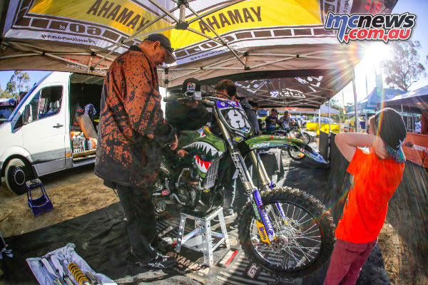 MX Nationals Round 6 at Nowra is the Military Appreciation Round