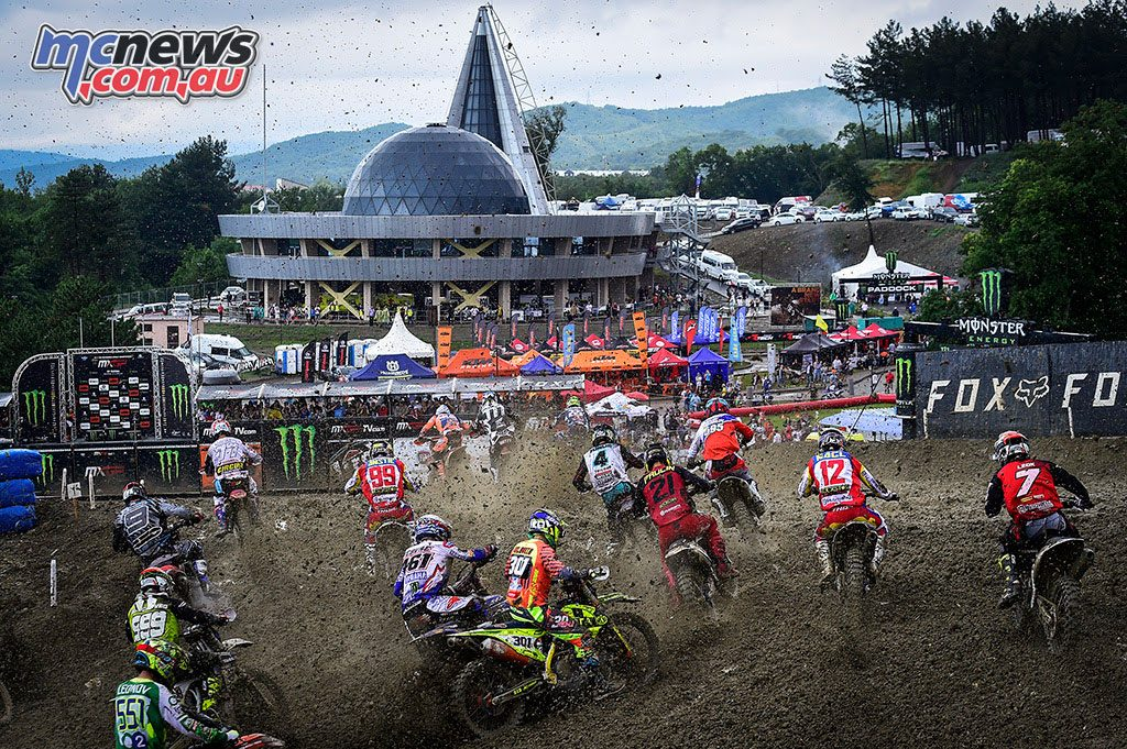 MXGP Start - The conditions deteriorated for the second moto