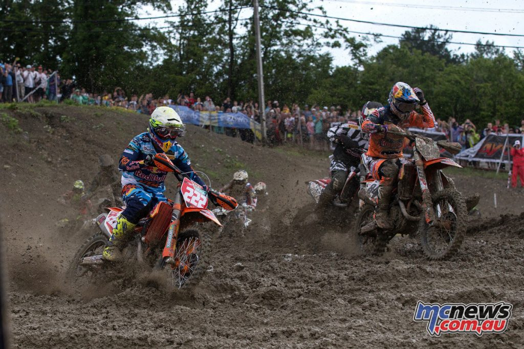 Tony Cairoli and Jeffrey Herlings
