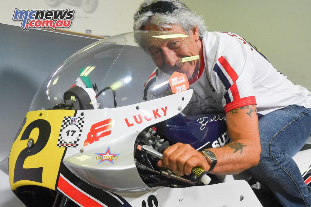 1981 500 World Champion Marco Lucchinelli
