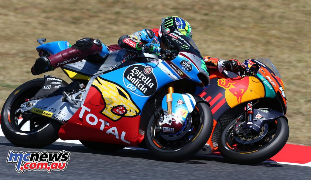 Franco Morbidelli has proven a driving force in Moto2 with his main competition from Alex Marquez