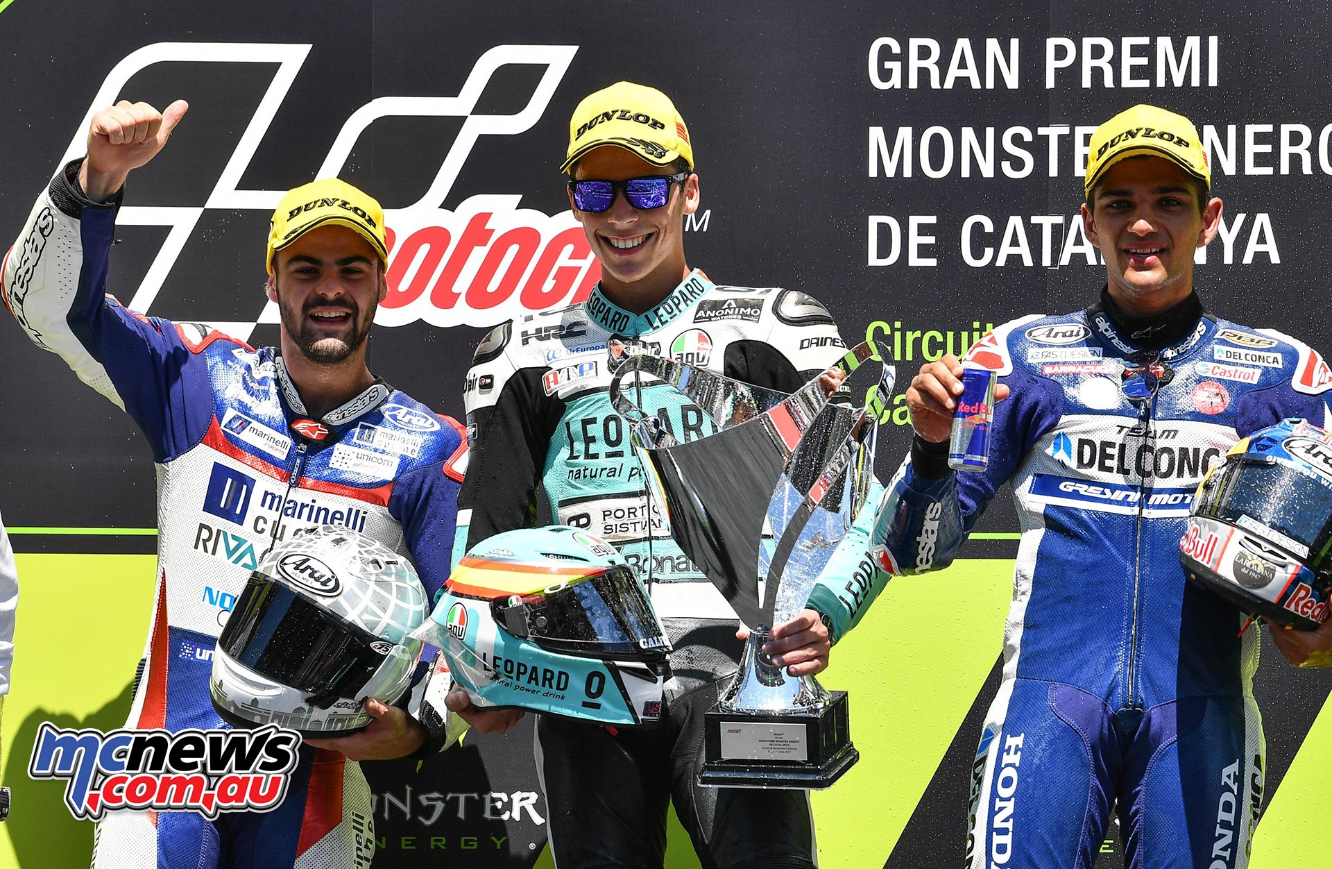 Moto3 Race Results Joan Mir (SPA - Honda) 42'11.846 Romano Fenati (ITA - Honda) + 0.191 Jorge Martín (SPA - Honda + 0.279