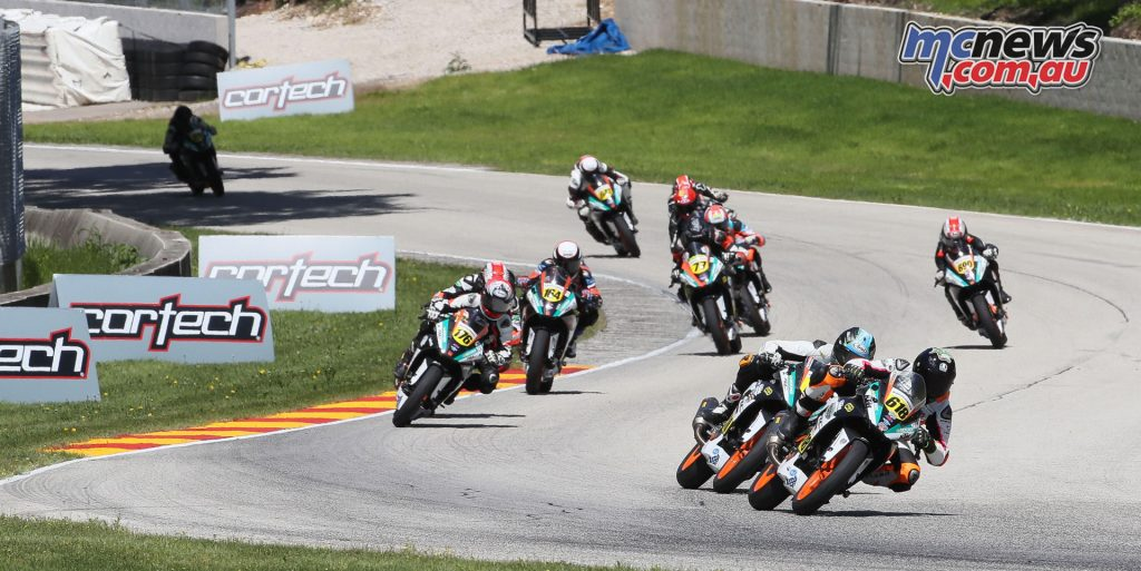 Blackmon leads the RC Cup field in Race 2 - Image by Brian J. Nelson