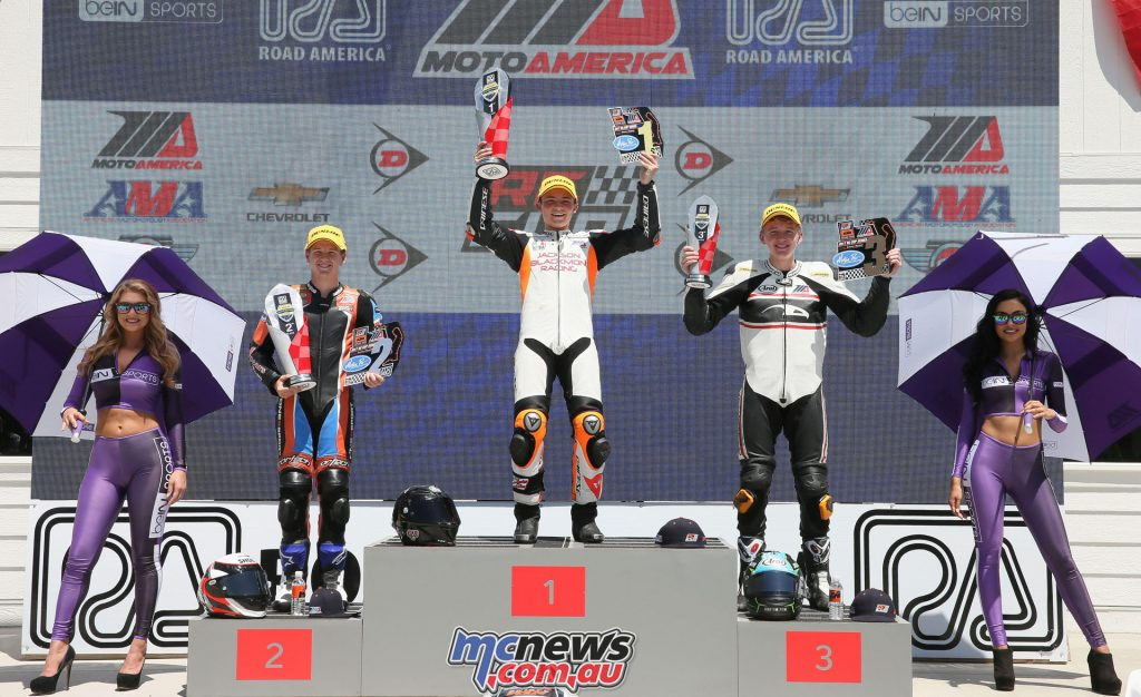 KTM RC Cup Race 2 Podium - Image by Brian J. Nelson