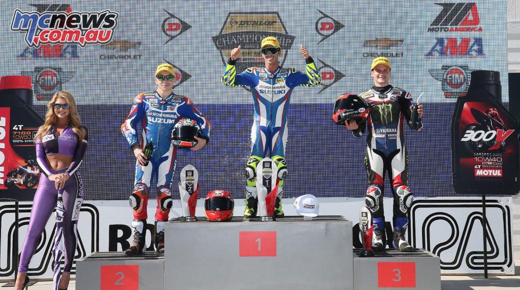Superbike Race 2 Podium - Image by Brian J. Nelson